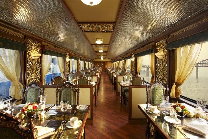 Interior del Maharajas 'Express