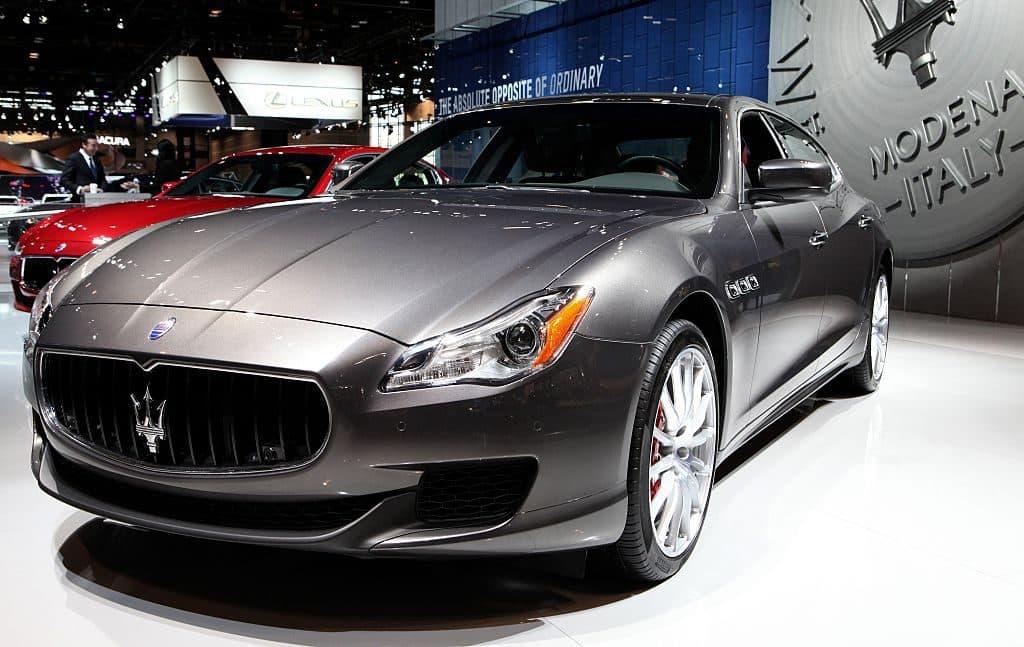 2016 Maserati Quattroporte S Q4 en el 108 ° Salón Anual del Automóvil de Chicago