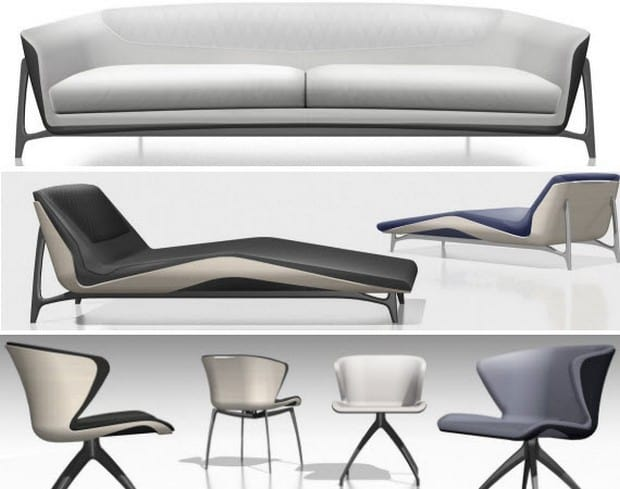 Mercedes Benz Furniture collection 1