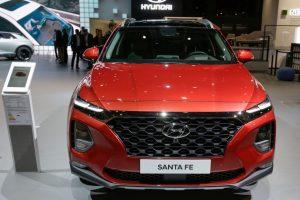 New Hyundai Santa Fe SUV
