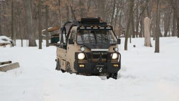 Suzuki Carry kei truck modified by Ai2 Products