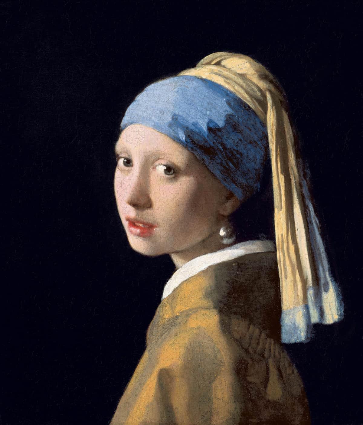 La chica con un pendiente de perla