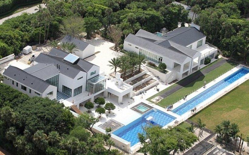 Casa de Tiger Woods en la isla de Júpiter