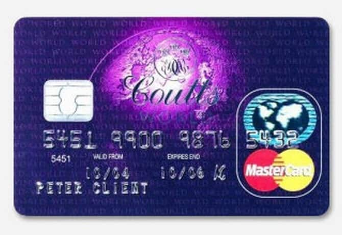 Top ten credit cards for the elite 00007