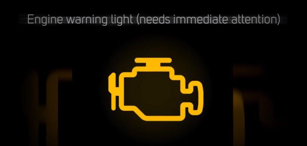 enging warning symbol