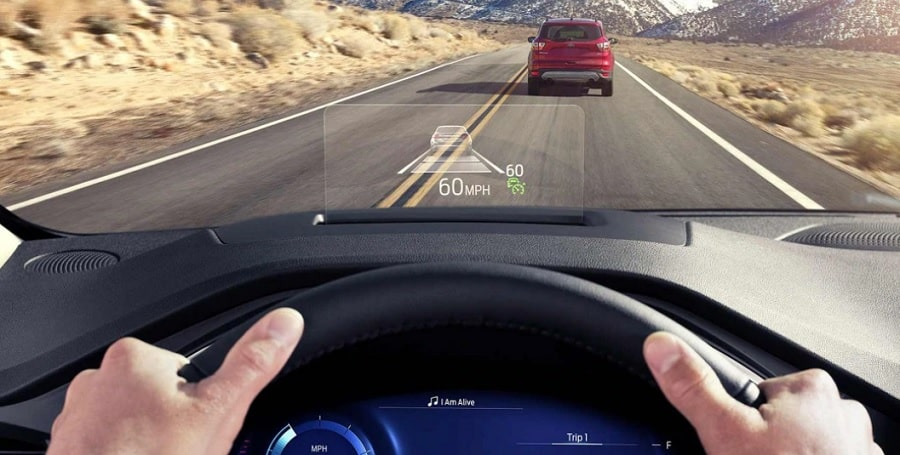ford escape head up display