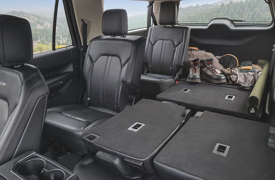 ford expedition platinum folded seats