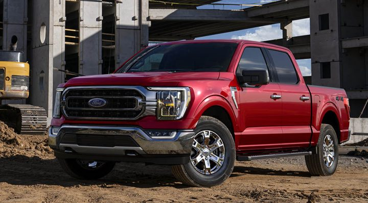 ford f 150 14th gen red scaled
