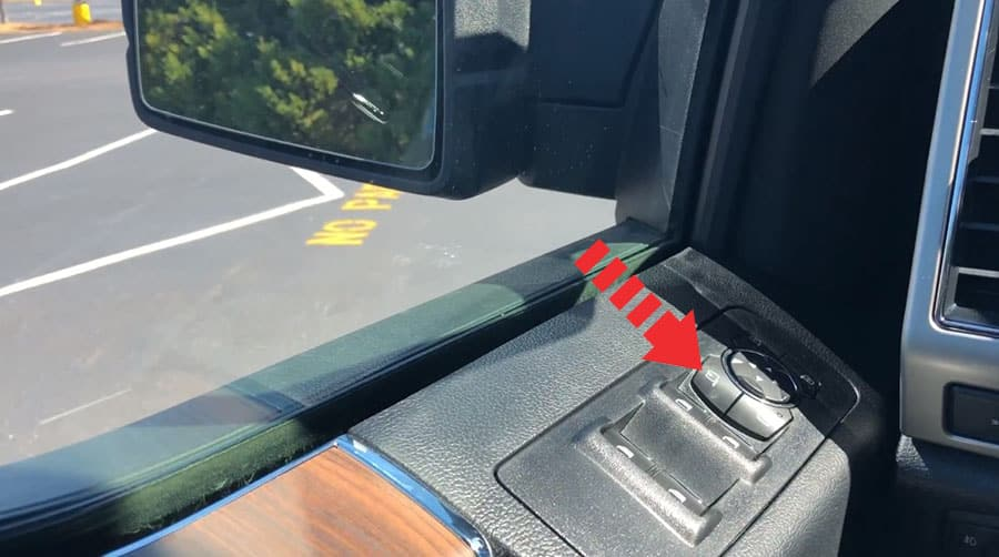 ford f 150 button mirrors power folding