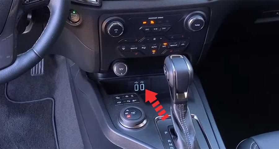 ford ranger usb ports