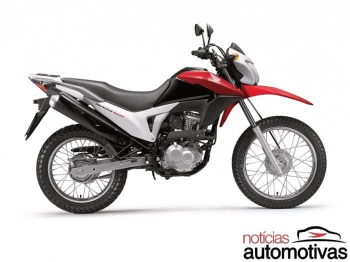 Honda NXR 160 Bros gana versión con frenos de tambor por R $ 9.950
