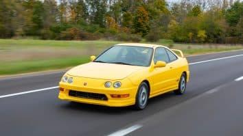 2001 Acura Integra Type R lead image
